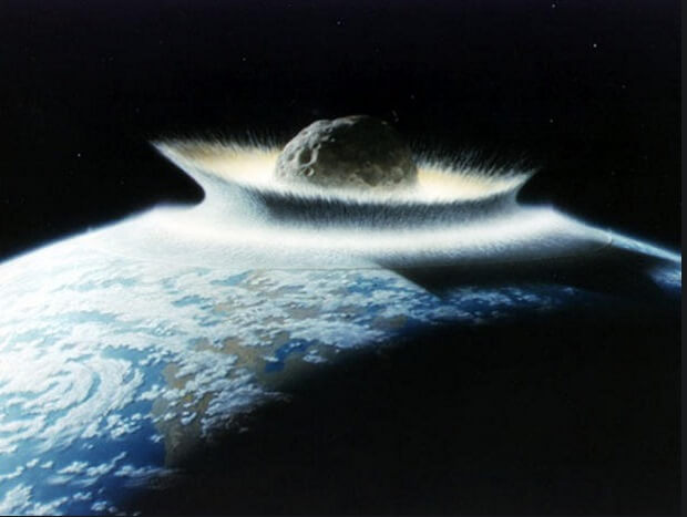 Asteroid Death Of Earth