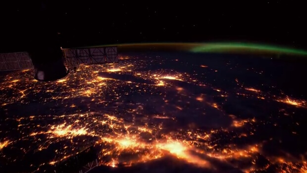 Space Station Time Lapse Of Earth