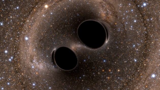 Gravitational Waves Detected from Black Holes Colliding