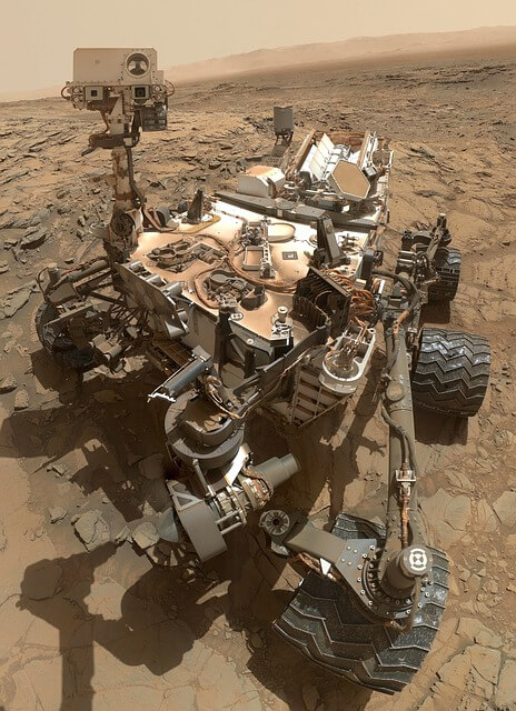 Mars Rover Curiosity Searches for Samples